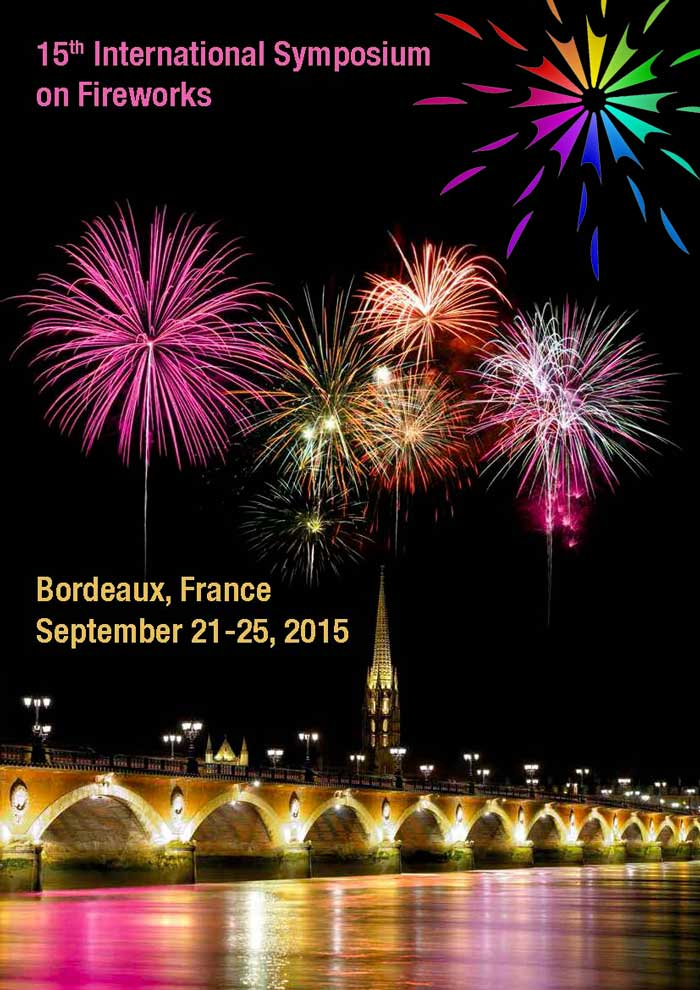 poster for 15th International Symposium on Fireworks