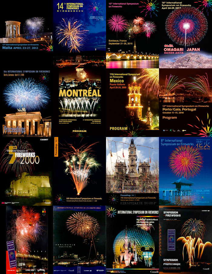 poster for 16th International Symposium on Fireworks