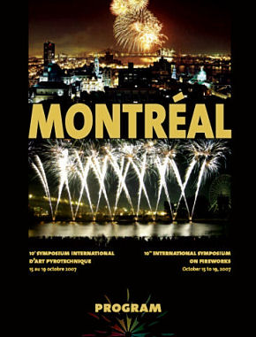 Montreal program cover 2007